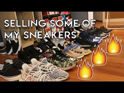 SELLING SOME OF MY SNEAKERS (Yeezys, Bape, Nike, Jordan, Adidas)