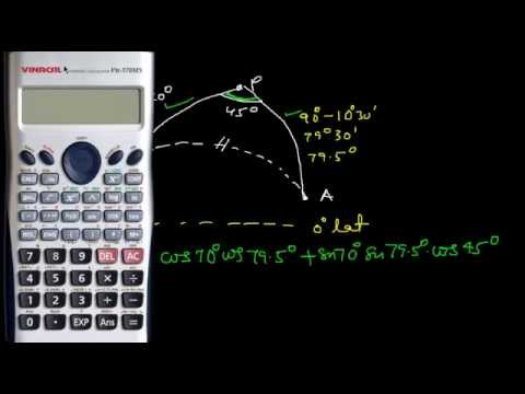 Calculation of Great Circle ( GC) Distance Example 2