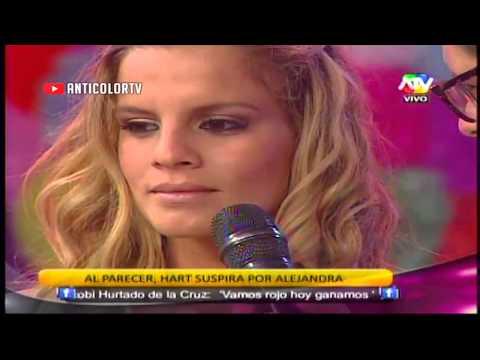 COMBATE Mario Hart Regala Un Corazon A Alejandra Baigorria 03/12/13