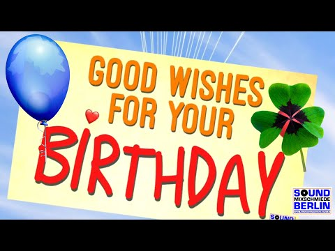 NEW Happy Birthday Song 2018 ❤️ Good Wishes for your Birthday SONG for WhatsApp Lyrics Video