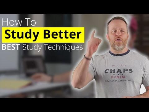 How To Study Better - Best Study Techniques