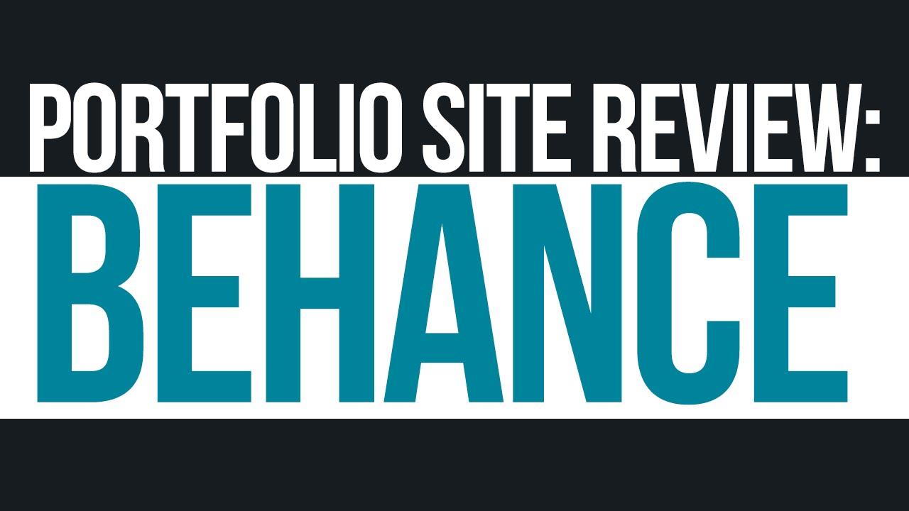 How to make a Behance Portfolio (Graphic Design Tutorials) - YouTube