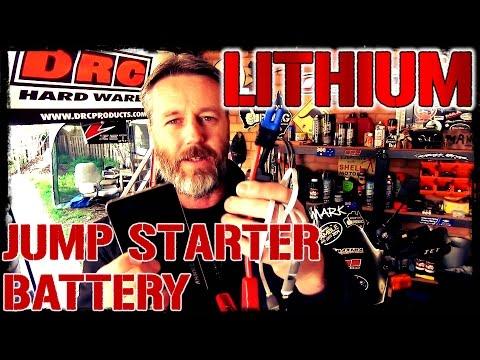 Motorcycle Lithium Jump Starter Battery