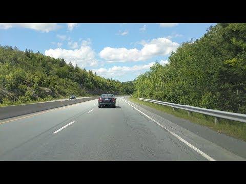Driving all of Nova Scotia's Highway 102