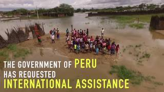 Peru's appeal for international humanitarian assistance