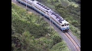 キハ58系急行「うわじま」、キハ185系、DE10+50系、1990年予讃線、想い出の鉄道シーン223