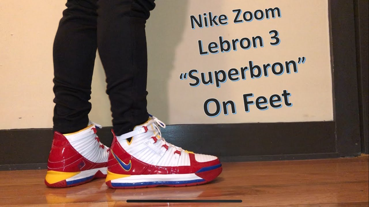 timeless design c087f 0d116  lebron3  lebron3superbron  lebron3superman