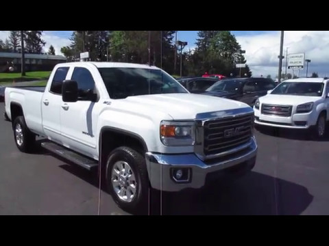 2015 gmc sierra 3500 double cab long bed sle 4wd. Black Bedroom Furniture Sets. Home Design Ideas