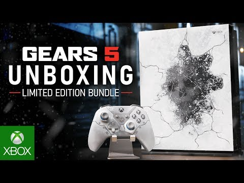 Unboxing the Xbox One X Gears 5 Limited Edition Bundle