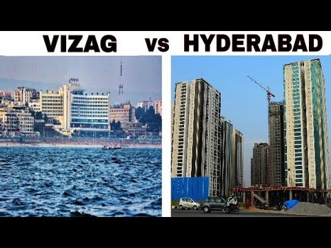 VIZAG vs HYDERABAD Full Comparison(2018) |Population |Plenty facts|Hyderabad City|Visakhapatnam City