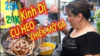 Cu Heo Chiên Giòn, Món Ăn Kinh Dị Nhưng Sang Chảnh Khó Tìm Của Người Sài Gòn