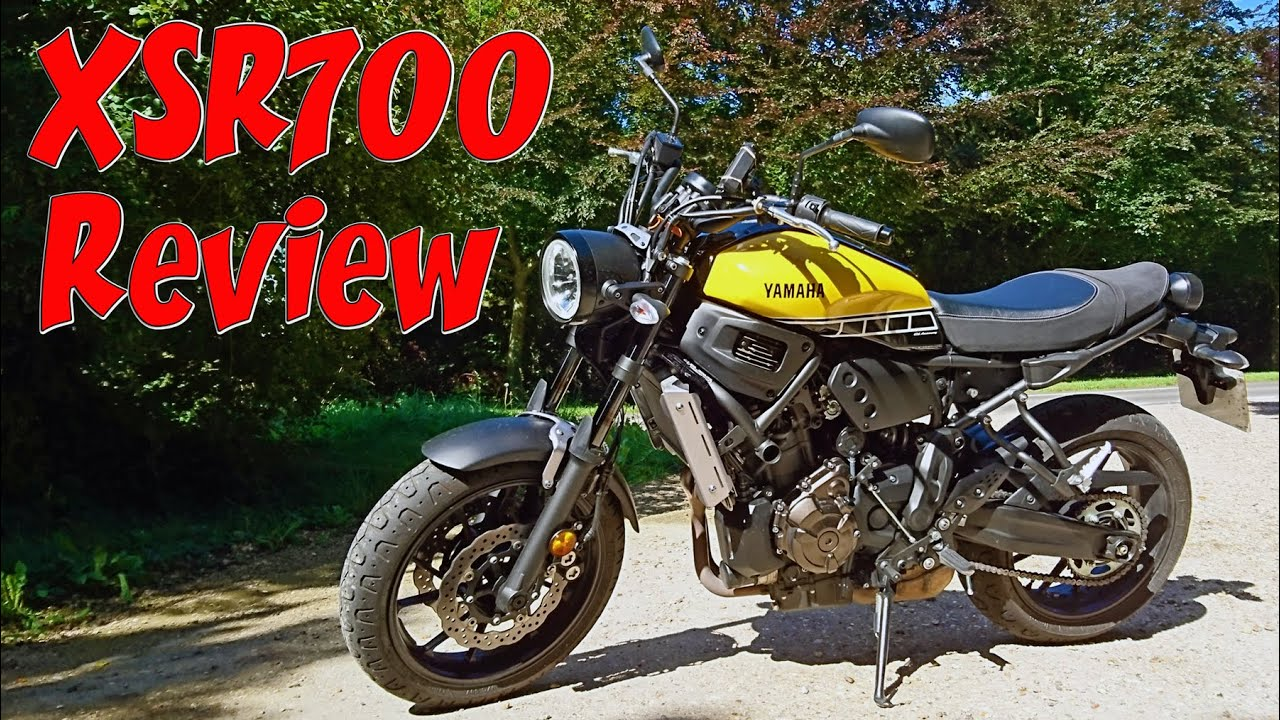 yamaha xsr700 review youtube. Black Bedroom Furniture Sets. Home Design Ideas