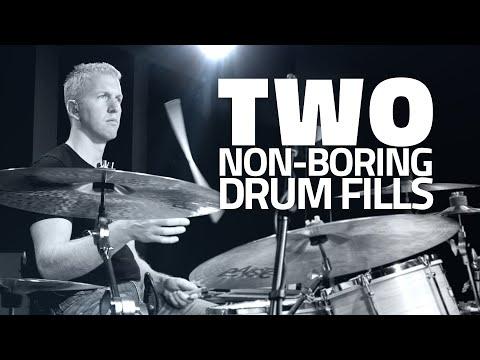 Two Non-Boring Drum Fills - Drum Lesson (DRUMEO)
