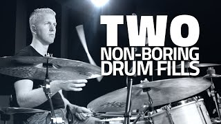 Two Non-Boring Drum Fills - Drum Lesson