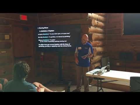 20171021 Retreat Workshop - The Baptism Carousel