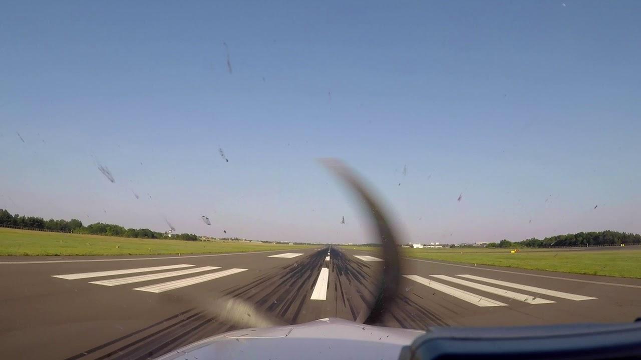 Poznan EPPO Landing - Cirrus SR22