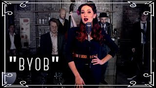 """""""BYOB"""" (System of a Down) Vintage Military Cover by Robyn Adele Anderson"""