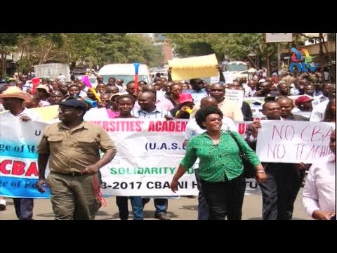 A country in crisis; labour unrest affecting health and education sectors