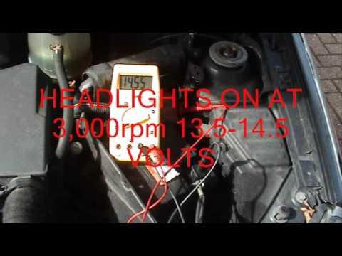 Testing Alternator and Wiring - YouTube