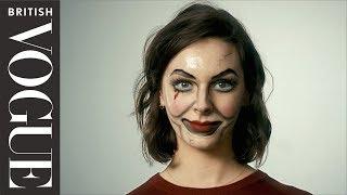 Easy Halloween Make-up: Creepy Doll | Vogue Beauty School | British Vogue