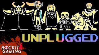 undertale rap song tell me another live acoustic   rockit gaming records