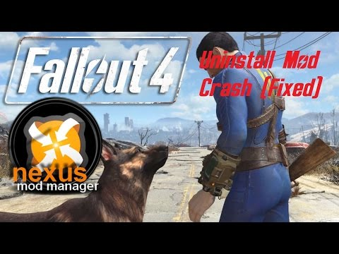 FALLOUT 4: Uninstalled mod causes crash? POSSIBLE FIX