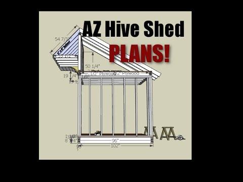 Cirque SolEvans - AZ Hive Shed - Plans (kinda) -