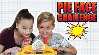 Pie Face Challenge / Mit meinen Bruder Yasin - Celina