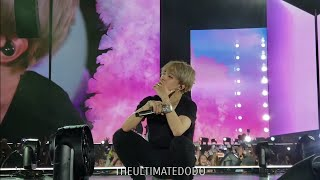 181006 JIMIN CRIED @ BTS 방탄소년단 Love Yourself Tour in Citi Field NYC Fancam 직캠
