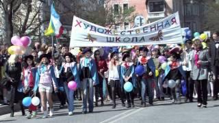 Евпатория 2011. ч3. парад(1-й Уличный Евпаторийский Фестиваль АРТа