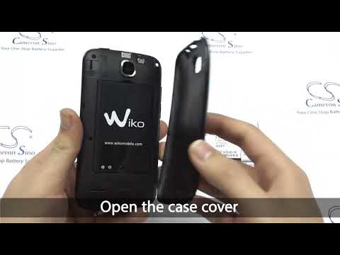 WIKO Ozzy battery replacement || How to replace Cameron Sino battery CS-WKZ005XL