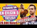 İstanbul'un En İyi 5 Tatlısı! -10 Kişiye Tatlı Ismarlıyorum! #AlperinEnleri