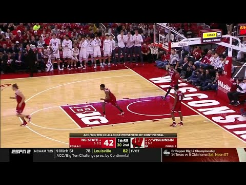 Extended Highlights: NC State at Wisconsin | Big Ten Basketball | ACC/Big Ten Challenge