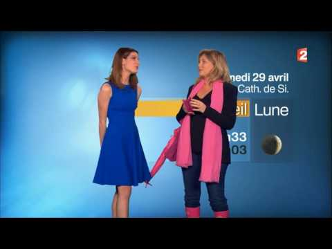 Météo - France 2 - Candice Renoir 28.4.2017