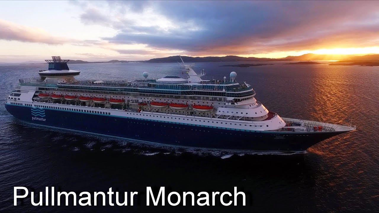 Pullmantur Monarch DRONE chase / Norway / Stavanger 3.7 ...