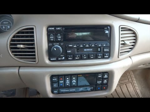 1997-2005 Buick Century Stereo Replacement