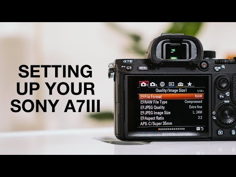 How To Set Up Sony A7III - Complete Menu Settings Guide