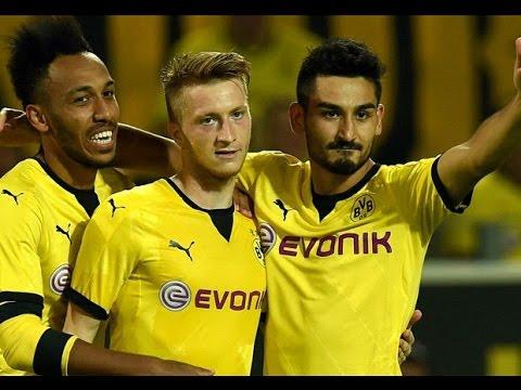 Borussia Dortmund Vs Wolfsberger: 5 - 0 ~ All Goals Europa League 2015  06/08/2015|HD