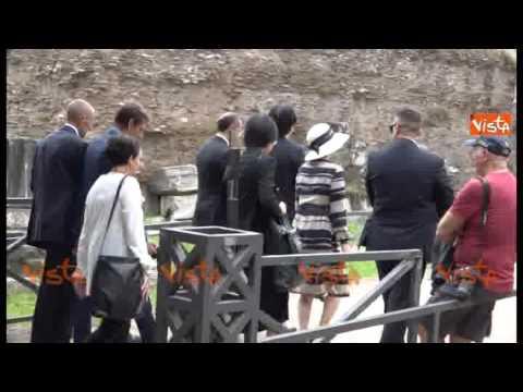 Il Principe Akishino e la Principessa Kiko visitano Roma