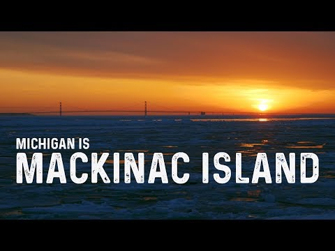 A tale of two islands: Mackinac Island in the off-season