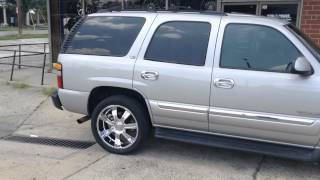 "2005 Gmc Yukon 22"" Incubus 501 Wheels and 305/40/22 Lexani Tires Rimtyme Durham Thumbnail"