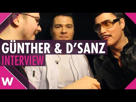 "Gunther & D'Sanz ""Love Yourself"" INTERVIEW - Live @ UMK 2017"