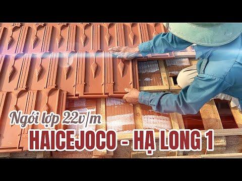 Ngói Lợp 22v/m Hạ Long 1 - Haicejoco | Ngói Mấp Hạ Long 1 - Haicejoco 22v/m Dùng Cho Nhà Mái Thái...