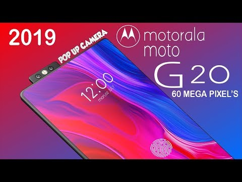 MOTO G20 2018 Trailer Concept Introduction. Dual POP UP Camera.