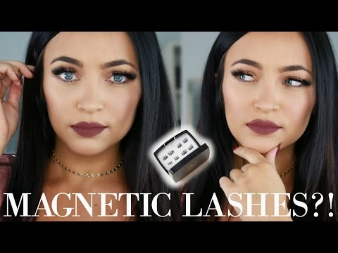 MAGNETIC LASHES??! First Impressions | Stephanie Ledda