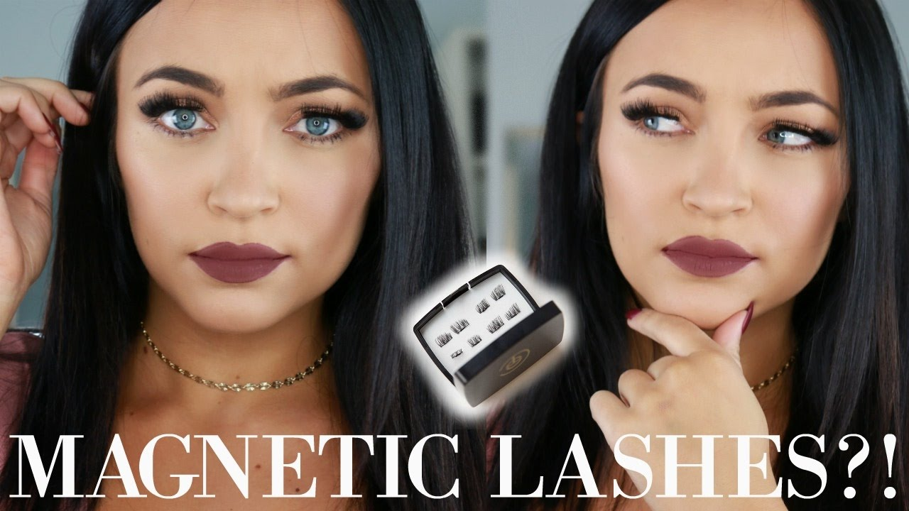 28a11133005 MAGNETIC LASHES??! First Impressions | Stephanie Ledda - YouTube
