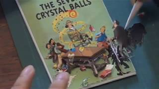 TinTin and the Seven Crystal Balls (Paper Tole) - Victor Lin