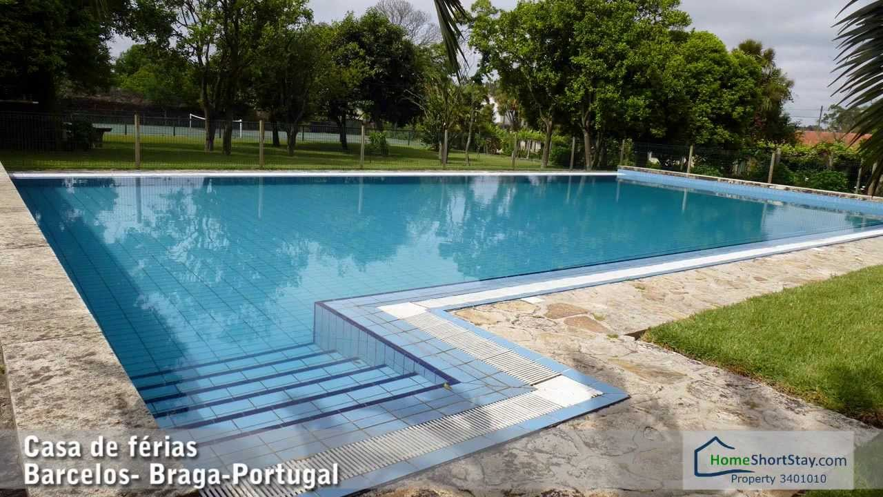 F rias baratas em portugal casa com piscina norte for Piscinas norte