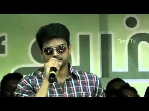 Tamil Actor Vijay funny video
