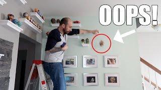 DIY Shelves - Our Disney Funko Pop Collection!
